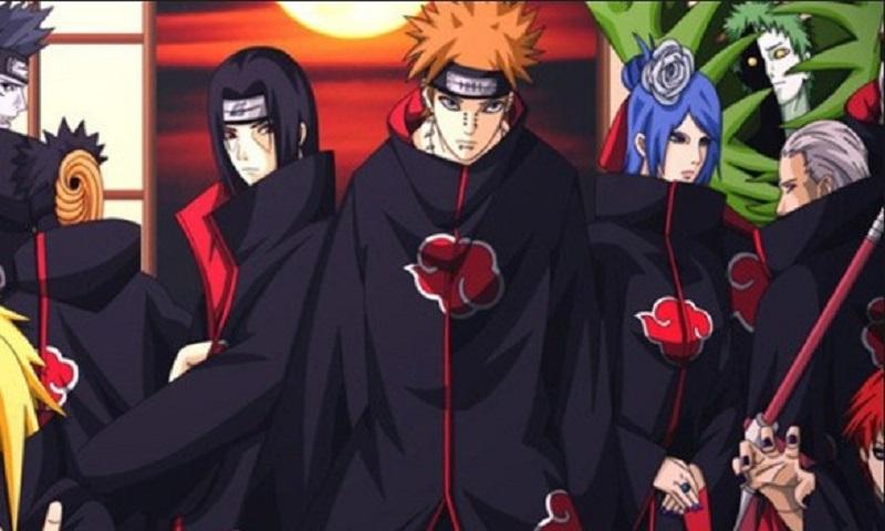 Tốp 3 nhân vật mạnh nhất trong Akatsuki